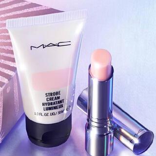 MAC - MAC マック テンダートーク リップ バーム・ストロボクリーム ピンクライト