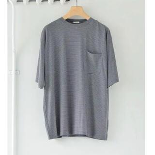 コモリ(COMOLI)のコモリ ウール天竺 半袖クルー 2 新品(Tシャツ/カットソー(半袖/袖なし))