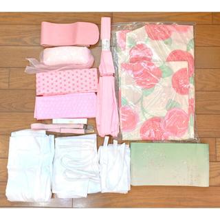 浴衣 レディース ピンク 花柄 一式セット(浴衣)