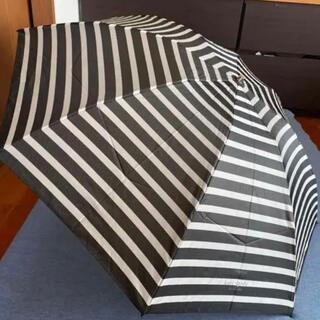 ケイトスペードニューヨーク(kate spade new york)の未使用品 ケイトスペード折りたたみ雨傘 ブラック(傘)