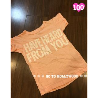 ゴートゥーハリウッド(GO TO HOLLYWOOD)のGO TO HOLLYWOOD ゴートゥーハリウッド ハート Tシャツ 100(Tシャツ/カットソー)