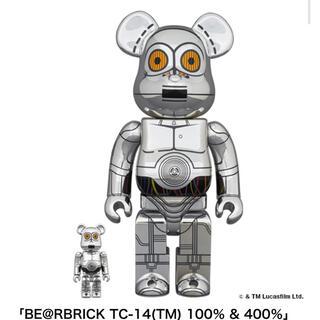 メディコムトイ(MEDICOM TOY)のBE@RBRICK TC-14(TM) 100% & 400%(その他)