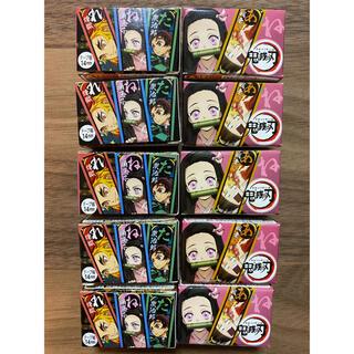 ユーハミカクトウ(UHA味覚糖)の鬼滅の刃 ぷっちょ ロールテープことば絵巻 コンプリート マスキング(その他)