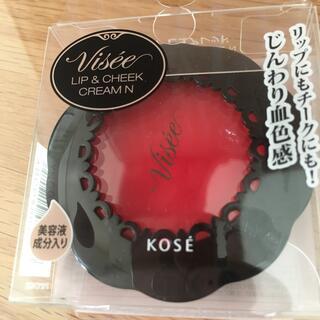 コーセー(KOSE)のヴィセ リップ&チーク RD1 ピュアレッド(口紅)