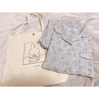 シマムラ(しまむら)の6/1限定お値下げ♡ミッフィー  パジャマ+トートバッグセット(パジャマ)
