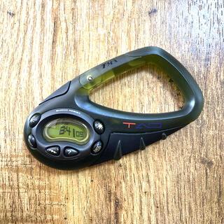 タイメックス(TIMEX)のTIMEX カラビナ carabiner SHOCK RESIST 時計(腕時計(デジタル))