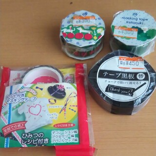アイエルバイサオリコマツ(il by saori komatsu)のマスキングテープ  テープ黒板替  三ツ矢サイダー非売品マスキングテープ(テープ/マスキングテープ)