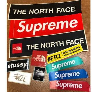 シュプリーム(Supreme)のSUPREME&north face&STUSSY&FR2ステッカーセット(その他)