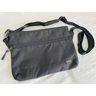 ジーユー(GU)のGU ジーユー サコッシュ ショルダーバッグ かばん CORDURA ブラック(ショルダーバッグ)