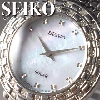 セイコー(SEIKO)の★定価7万円★セイコー/36石ダイヤモンド/女性用/レディース腕時計WW1349(腕時計)