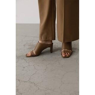 エンフォルド(ENFOLD)の専用 リムアーク thin line square heel Lサイズ iena(サンダル)