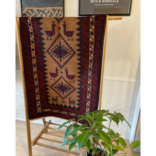 イデー(IDEE)のアフガン トライバルラグ AfghanPictorial Wool Rug,(ラグ)