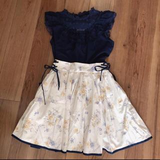 リズリサ(LIZ LISA)のリズリサ トップス スカート(ミニスカート)