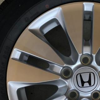 ホンダ(ホンダ)の【新車はずし】☆ステップワゴンスパーダ RK5 16インチ ホンダ純正 アルミ(タイヤ・ホイールセット)