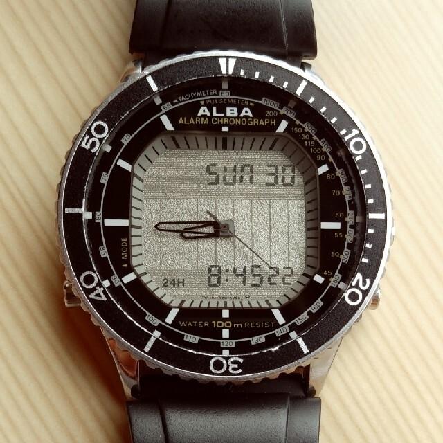 SEIKO(セイコー)の二重面相 ダイバー 値下げ可 メンズの時計(腕時計(デジタル))の商品写真