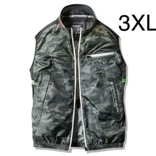 BURTLE - 新品 バートル 空調服 ベスト 3XL 服のみ AC1034  アーミーグリーン