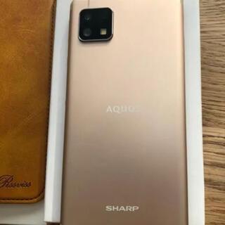 アクオス(AQUOS)のAQUOS sense 4 lite SH-RM15 ライトカッパー(スマートフォン本体)
