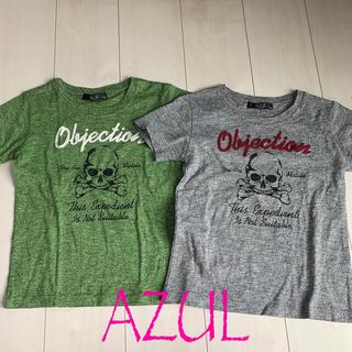 アズールバイマウジー(AZUL by moussy)のAZUL 130 双子 ふたご Tシャツ 検moussy(Tシャツ/カットソー)