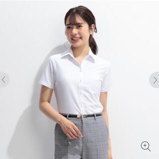 アオキ(AOKI)のAOKI 軽量ストレッチ 白 ドビースキッパー 半袖シャツ 2枚セット 9号(シャツ/ブラウス(半袖/袖なし))