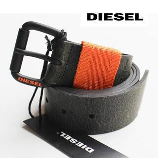 ディーゼル(DIESEL)の《ディーゼル》新品 イタリア製 ヴィンテージ加工 B-Vidor レザーベルト(ベルト)