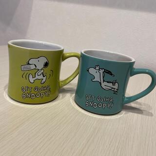 スヌーピー(SNOOPY)のマグカップ(SNOOPY)2個セット(グラス/カップ)