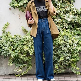 コウベレタス(神戸レタス)のイズントシー ワイドデニム パンツ(デニム/ジーンズ)