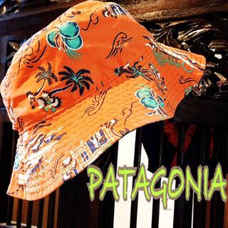 パタゴニア リバーシブル ハット 5T 帽子 ヤシの木 水着 ザノースフェイス