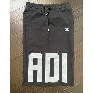 アディダス(adidas)のadidas⭐︎アディダス 膝丈スカート タイト XL かわいい (ひざ丈スカート)