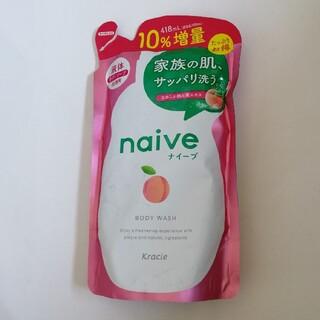 クラシエ(Kracie)のナイーブ ボディソープ 桃の葉エキス配合 詰替10%増量(418ml)(ボディソープ/石鹸)