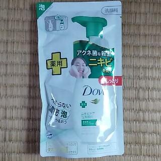 ユニリーバ(Unilever)のダヴ 薬用ニキビケア クリーミー泡洗顔料 つめかえ用(140ml)(洗顔料)