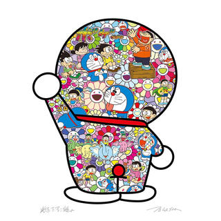 村上隆 ドラえもんの日常 ポスター(ポスター)