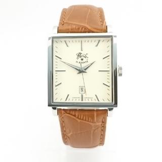 イルビゾンテ(IL BISONTE)のイルビゾンテ  腕時計 スクエア(腕時計(アナログ))