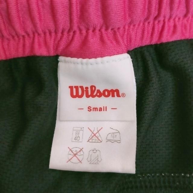 wilson(ウィルソン)のWilsonウイルソンテニスパンツキッツS スポーツ/アウトドアのテニス(ウェア)の商品写真