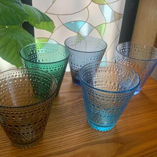 イッタラ(iittala)のイッタラ カステヘルミ 5色セット❣️お値下げ❣️(グラス/カップ)