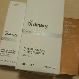 セフォラ(Sephora)のTheordinary グリコール酸 アルファアルブチンアスコルビン酸+おまけ(美容液)