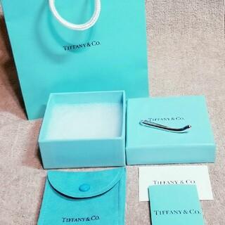 ティファニー(Tiffany & Co.)のティファニー ティアドロップ シルバー 925 ネクタイピン タイバー 新品(ネクタイピン)