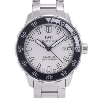 インターナショナルウォッチカンパニー(IWC)のアイダブリューシー シャフハウゼン  アクアタイマー 腕時計(腕時計(アナログ))