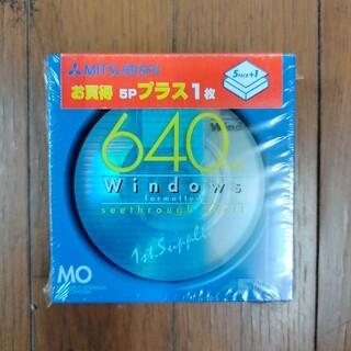 ミツビシ(三菱)のMO メディア 640M(PC周辺機器)