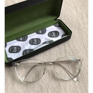 Zoff - zoff 紫外線カット クリア眼鏡