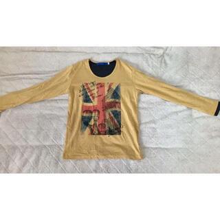 スピンズ(SPINNS)のSPINS プリントロンT Mサイズ(Tシャツ/カットソー(七分/長袖))