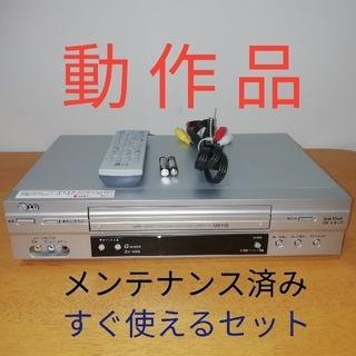 エルジーエレクトロニクス(LG Electronics)のLG VHSビデオデッキ GV-HIA5 動作品メンテナンス済み(その他)