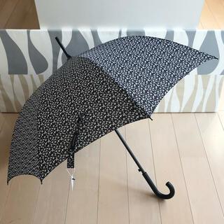 マリメッコ(marimekko)の新品 marimekko Stick Unikko ウニッコ 長傘 ブラック(傘)