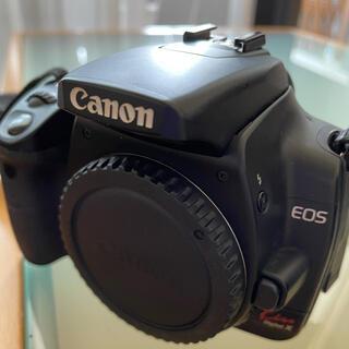 キヤノン(Canon)のCANON EOS Kiss Digital X ブラック・ダブルズームキット(デジタル一眼)