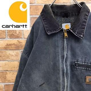 カーハート(carhartt)の【カーハート】USA製 ダックジャケット カバーオール チャコールグレー(カバーオール)