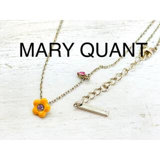 マリークワント(MARY QUANT)のMARY QUANT マリークワント フラワーモチーフ ネックレス(ネックレス)