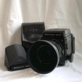 マミヤ(USTMamiya)のマミヤ Mamiya RB67 PRO S プリズムファインダー セット(フィルムカメラ)
