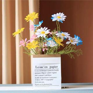 造花 フラワー お花 花 装飾 インテリア 自然 ナチュラル かすみ草 白 2本(ドライフラワー)