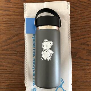 ファミリア(familiar)のファミリア  ステンレスボトル グレー 新品未使用 ハイドロフラスク(水筒)