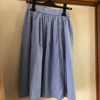 オペークドットクリップ(OPAQUE.CLIP)のオペークドットクリップ ストライプスカート(ひざ丈スカート)