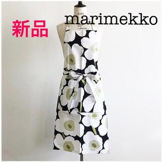 マリメッコ(marimekko)の新品 marimekko マリメッコ エプロン ウニッコ(収納/キッチン雑貨)